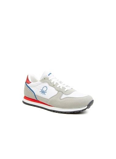 Benetton Bn30231 Erkek Spor Ayakkabı Beyaz